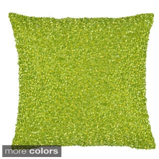 Vue Beaded 12-Inch Throw Pillow