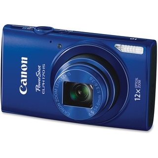 Canon PowerShot 170 IS 20 Megapixel Compact Camera - Blue
