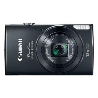 Canon PowerShot 170 IS 20 Megapixel Compact Camera - Black