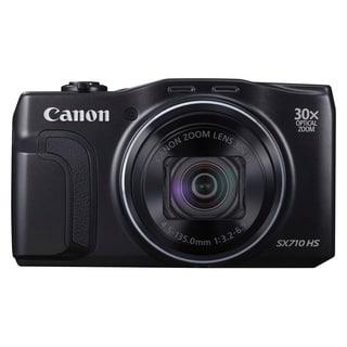 Canon PowerShot SX710 HS 20.3 Megapixel Compact Camera - Black