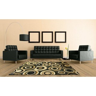 Audrey Blue/ Beige 6511 Area rug (8' x 11')