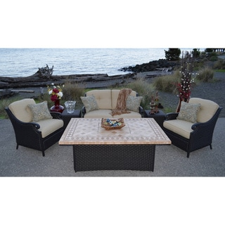 Estrada 6-piece Fire-conversation Group Furniture Set