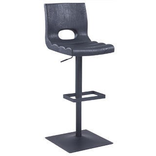 Christopher Knight Home Black Cut Out Back Oversized Pneumatic Stool