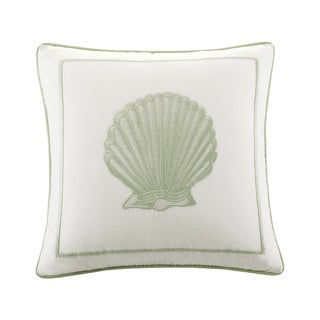 Harbor House Brisbane Cotton Embroideried Square Pillow