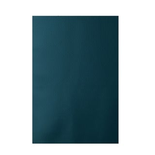 Decorative Solid Pattern Teal Area Rug (2' x 3')