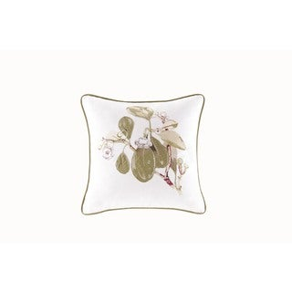 Harbor House Eternity Cotton Embroideried Square Pillow
