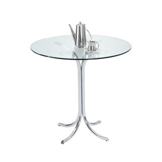 Christopher Knight Home Cayla Chrome 'X' Shape Counter Table