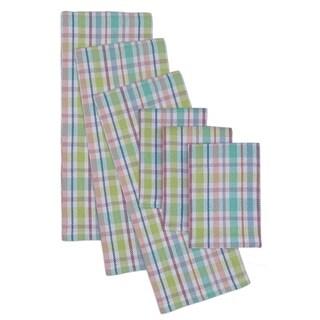 Spring Garden Heavyweight Dishtowel and Dishcloth Set (Set of 6)