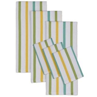 Lemonade Heavyweight Dishtowel and Dishcloth Set (Set of 6)