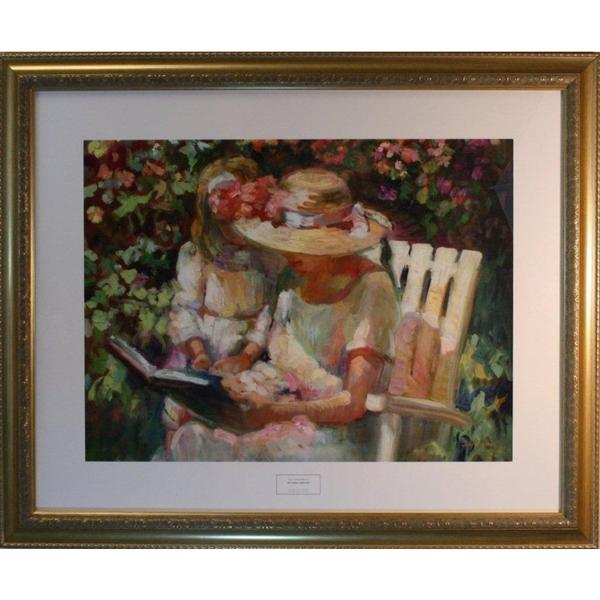 Sally Rosenbaum 'My Mom and Me' Framed Print Art