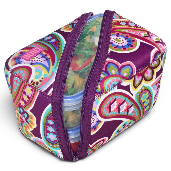 Built Bento Posh Paisley Purple Lunch Box