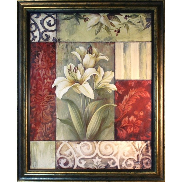 Lisa Audit 'Lilies and More' Framed Art Print