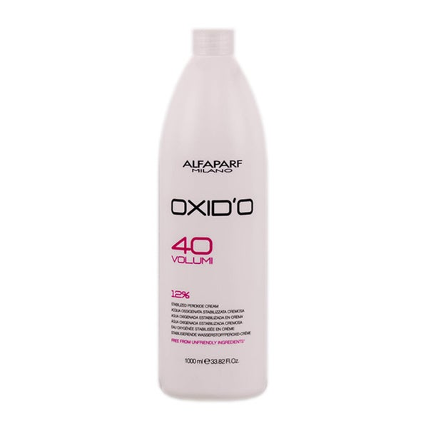 Alfaparf OXID'O Volume 40 33.8-ounce Peroxide Cream Developer