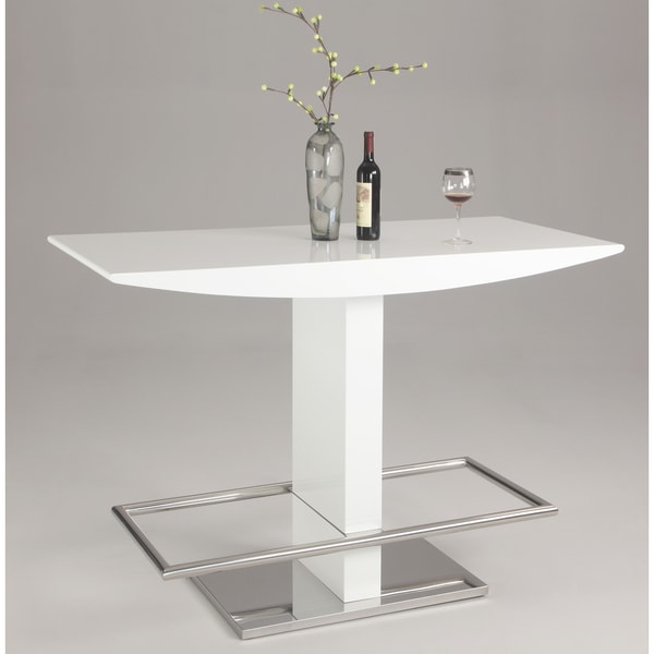 Christopher Knight Home Vineyard High Gloss White 'T' Stand Bar