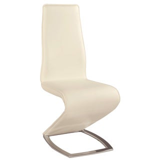 Christopher Knight Home Tamra White 'Z' Style Side Chair (Set of 2)