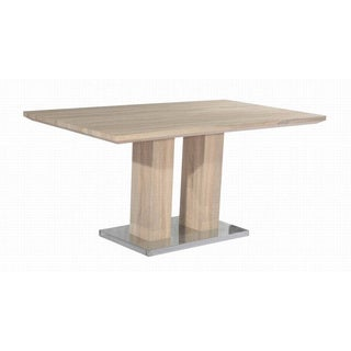 Christopher Knight Home Jocelyn Light Oak Pedestal Table