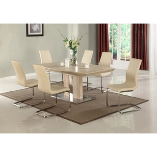 Christopher Knight Home Zion Light Oak Extendable Dining Table