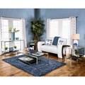 Furniture of America Deitie Modern Chrome 4-Piece Accent Table Set