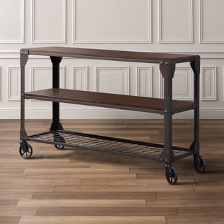 Furniture of America Karina Industrial Style Sofa Table