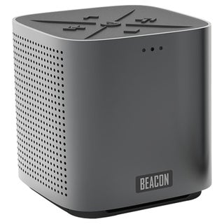 Beacon The Blazar Blazar Graphite Speaker System - Portable - Wireles