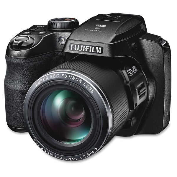 Fujifilm FinePix S9900W 16.2 Megapixel Bridge Camera - Black