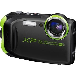 Fujifilm FinePix XP80 16.4 Megapixel Compact Camera - Graphite Black