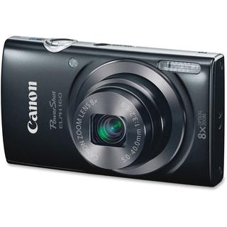 Canon PowerShot ELPH 160 20 Megapixel Compact Camera - Black
