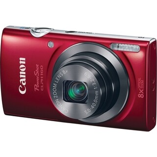 Canon PowerShot ELPH 160 20 Megapixel Compact Camera - Red