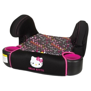 Baby Trend Hybrid No Back Booster Car Seat in Hello Kitty Pin Wheel