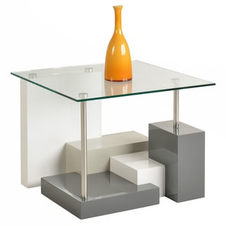 Shelby Modern Block Base Lamp Table