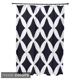 Lattice Pattern Shower Curtain