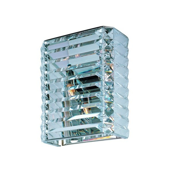 Manhattan Chrome 2-light Wall Sconce
