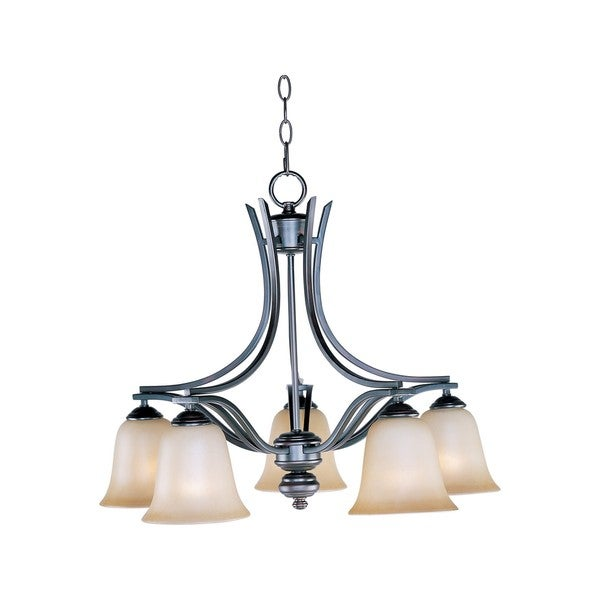 Madera Nickel 5-light Chandelier