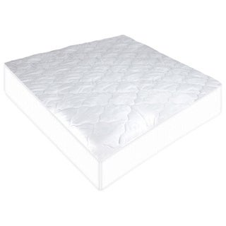 Suvelle Quilted Cotton Mattress Pad Cover Protector for Portable Mini Crib