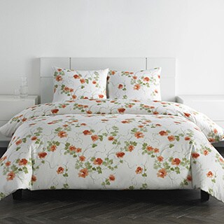 Vera Wang Orange Blossom 3-piece Duvet Cover Set