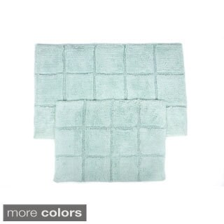 Pacific Blocks Two-piece Bath Mat Set