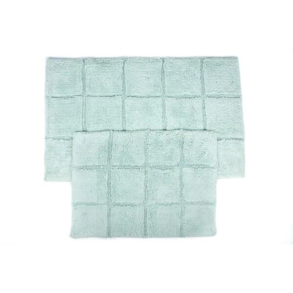 Pacific Blocks Two-piece Bath Mat Set