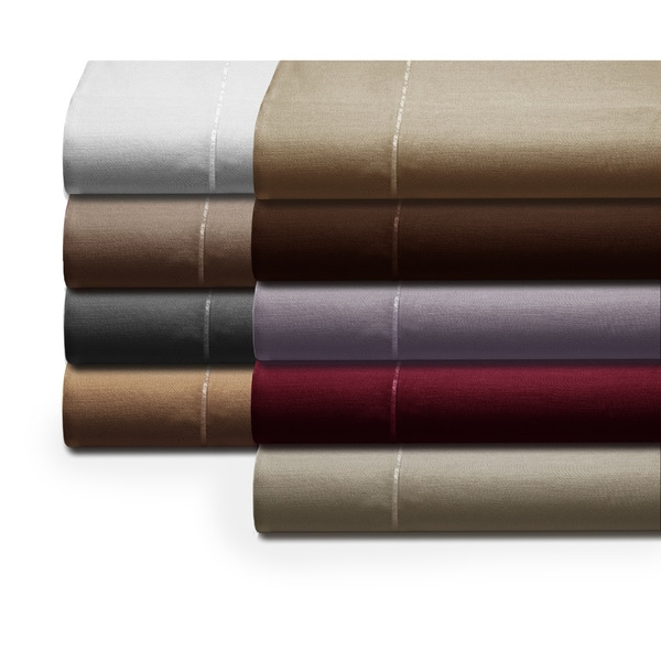 Luxury 800 Thread Count Egyptian Cotton Cal King Sheet Set in Chocolate (As Is Item)