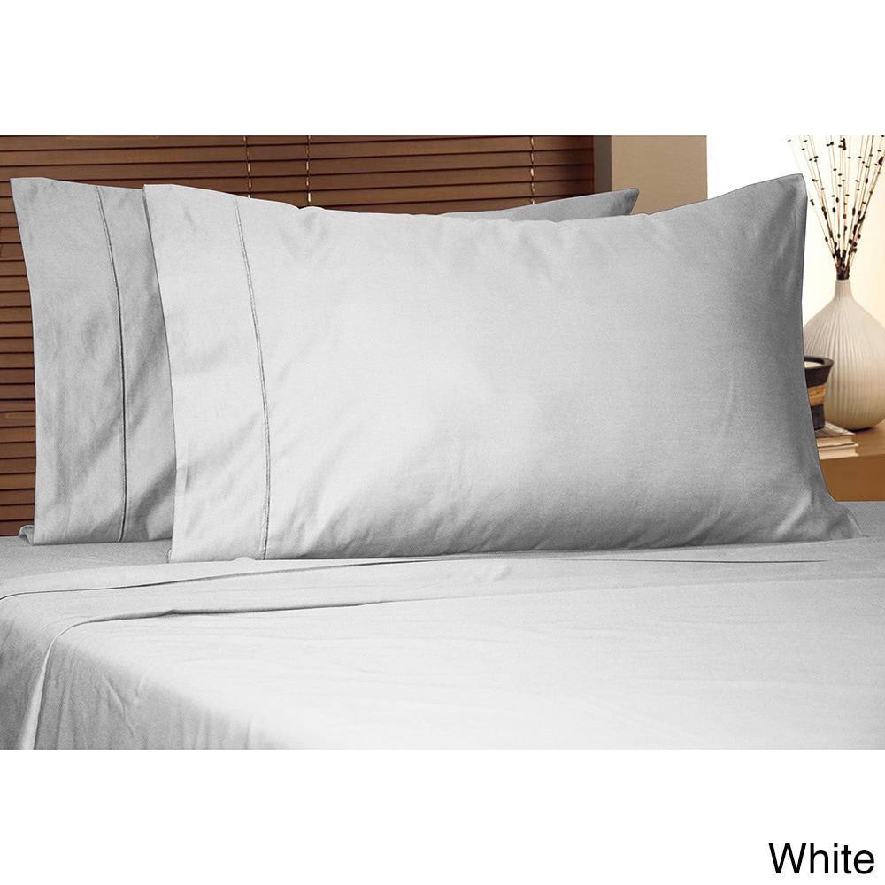 luxury deep pocket  thread count egyptian cotton sheet set -