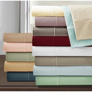 Luxury Deep Pocket 800 Thread Count Egyptian Cotton Bed Sheet Set