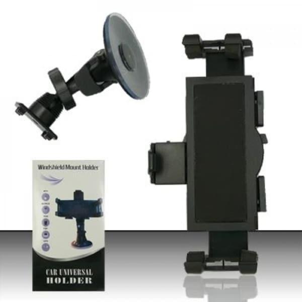 Insten Black Universal Windshield Suction Car Mount Phone Holder