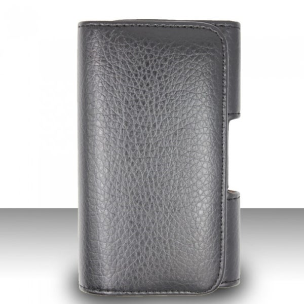 Insten Black Horizontal Leather Pouch Phone Case Cover