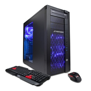 CyberpowerPC SLC7600 Gamer Supreme 4.0GHz Intel Core i7 16GB RAM 120GB SSD/ 2TB HDD Desktop Gaming Computer
