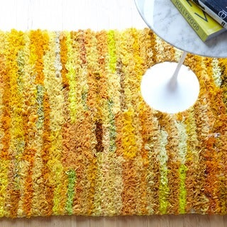 Alexander Home Payton Bohemian Shag Hand-Woven Rug