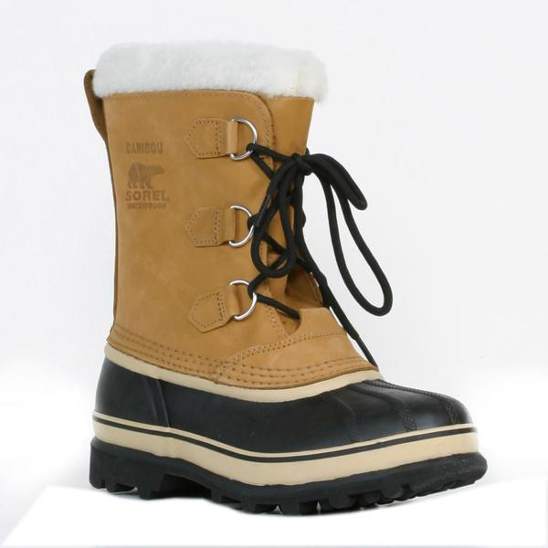 Sorel Youth 'Caribu' Nubuck Leather Cold Weather Boots