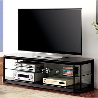 Furniture of America Nessa Contemporary 60-inch Metal TV Stand