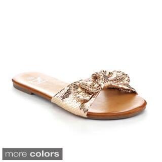Betani Women's Dora-23 Basic Sweet Slide Beach Sandals