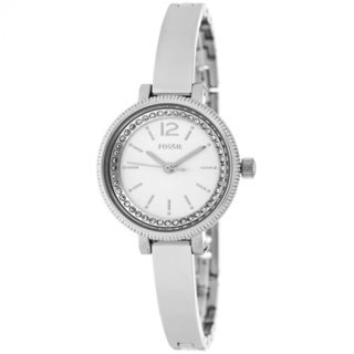 Fossil Women's BQ1200 'Classic' Crystal Stainless Steel Watch