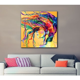 Linzi Lynn 'Windswept' Gallery-wrapped Canvas