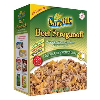 Sam Mills Gluten-free Beef Stroganoff Dinner Kit (4 Pack)